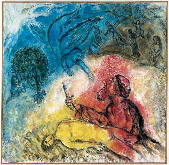 chagall-akedah